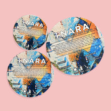 Nara Synthetic Waterproof Paper for Alcohol Ink Art - Circle