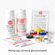 Resin Art Basic Starter Kit - Mixing Cups, Stirrers & Gloves Included