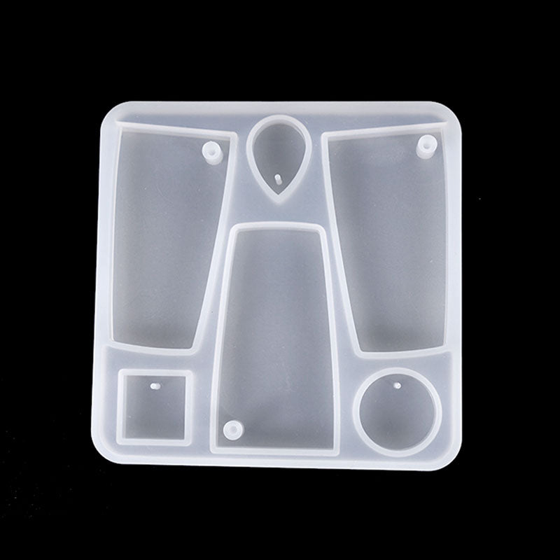 Offbeat Jewellery Pendants Silicone Mould - No Drill