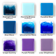 Opaque Colour Epoxy Paste Pigments for Resin Art - Box Set of 40 Colours