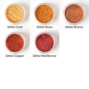 Mica Pearl Powder Pigments - Box Set of 30 Colours