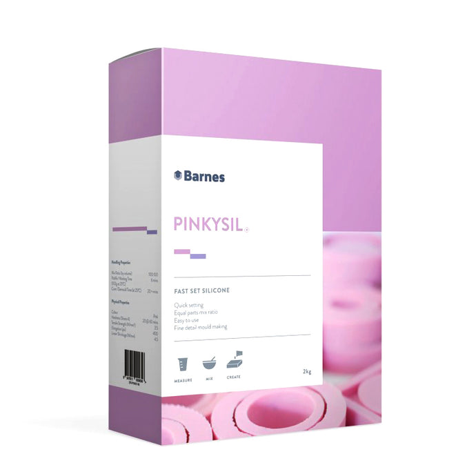 Pinkysil® Fast set silicone (1 KG)