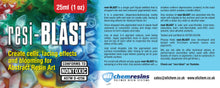 Resi-BLAST Art Dispersion Media - Food-Safe Silicone Oil For Creating Cells