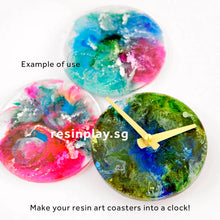 US-Made Takane Quartz Clock Movement for Resin Artworks (Clock Hands Not Included)