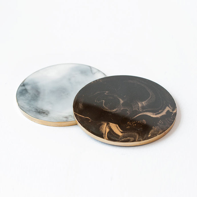 Marble Resin Coasters