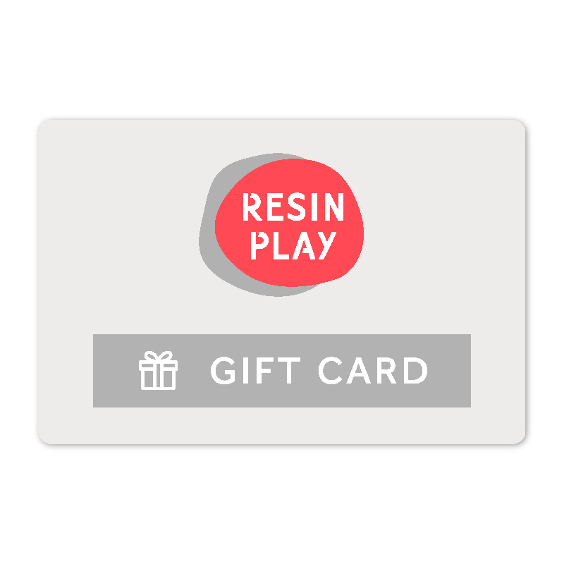 Resin Play Gift Card