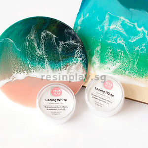 Lacing White Pigment (10g) - For Creating Sea Foam & Lacing Effect