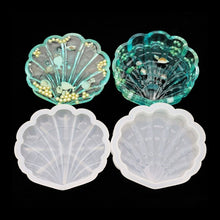 Seashell Storage Box Silicone Moulds - 2 Moulds (Lid & Box)