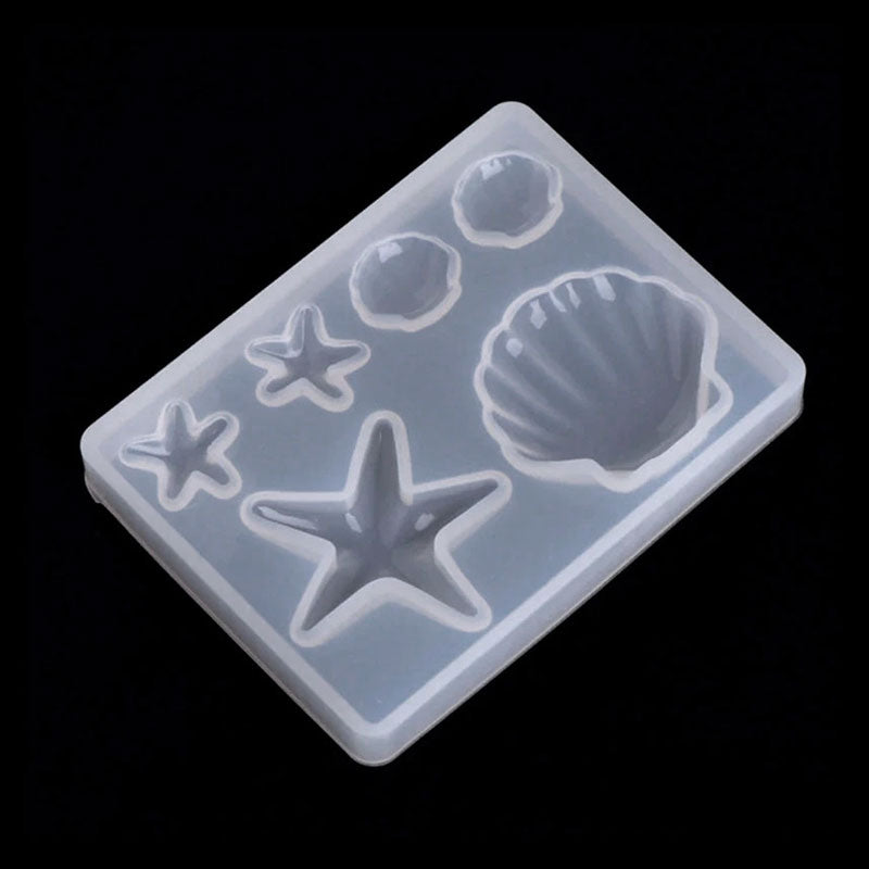 Seashells & Starfish Silicone Mould