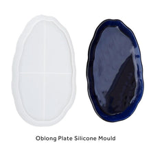 Asymmetrical Large Plate Silicone Mould