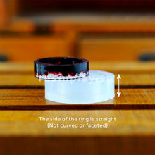 Straight Edge Ring Silicone Mould
