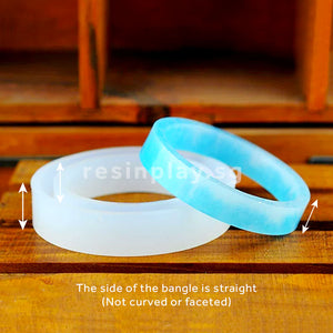 Straight Edge Bangle Silicone Mould