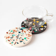 Terrazzo Coaster Starter Kit - Mixing Cups, Stirrers & Sandpaper Included