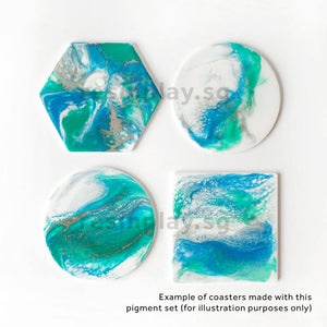 Resin Art Pigment Set - Traveller's Rest