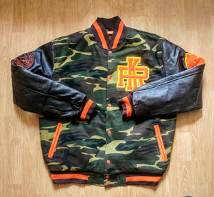 e3f1bb6dabc2a Rich Kid Basquiat Bear inspired Letterman Jacket - $30 Off with ...