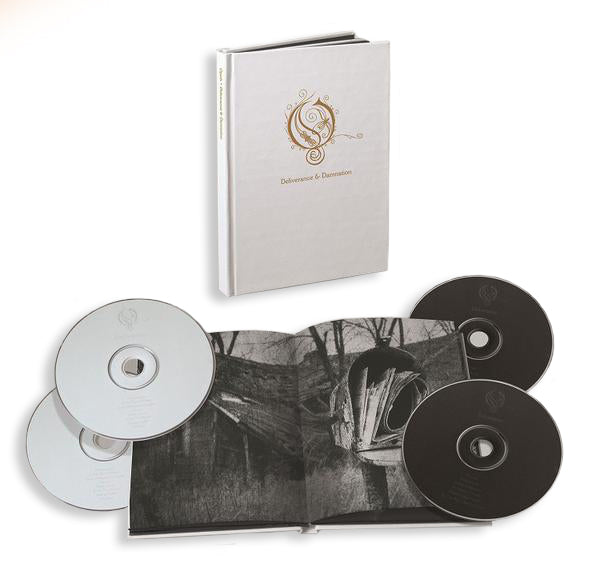OPETH - Deliverance & Damnation - 4 Disc Book Set