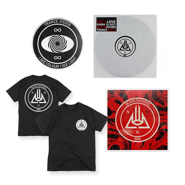 BLACK FUTURES - EXPEDITION 001 - EP + POSTER + PATCH + TEE
