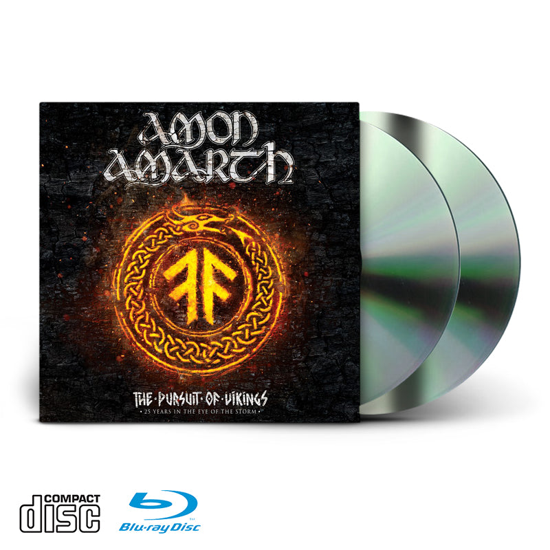 AMON AMARTH - THE PURSUIT OF VIKINGS - BLU RAY/CD
