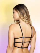 3397 - Halter Neck Crop Top with Strappy Back