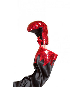 GL103 Sequin Boxing Gloves - Roma Costume Costumes