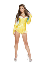 4660 - 1pc Yellow Mermaid