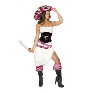 4526 5pc Precious Pirate Costume - Roma Costume Costumes,2014 Costumes,New Products - 1