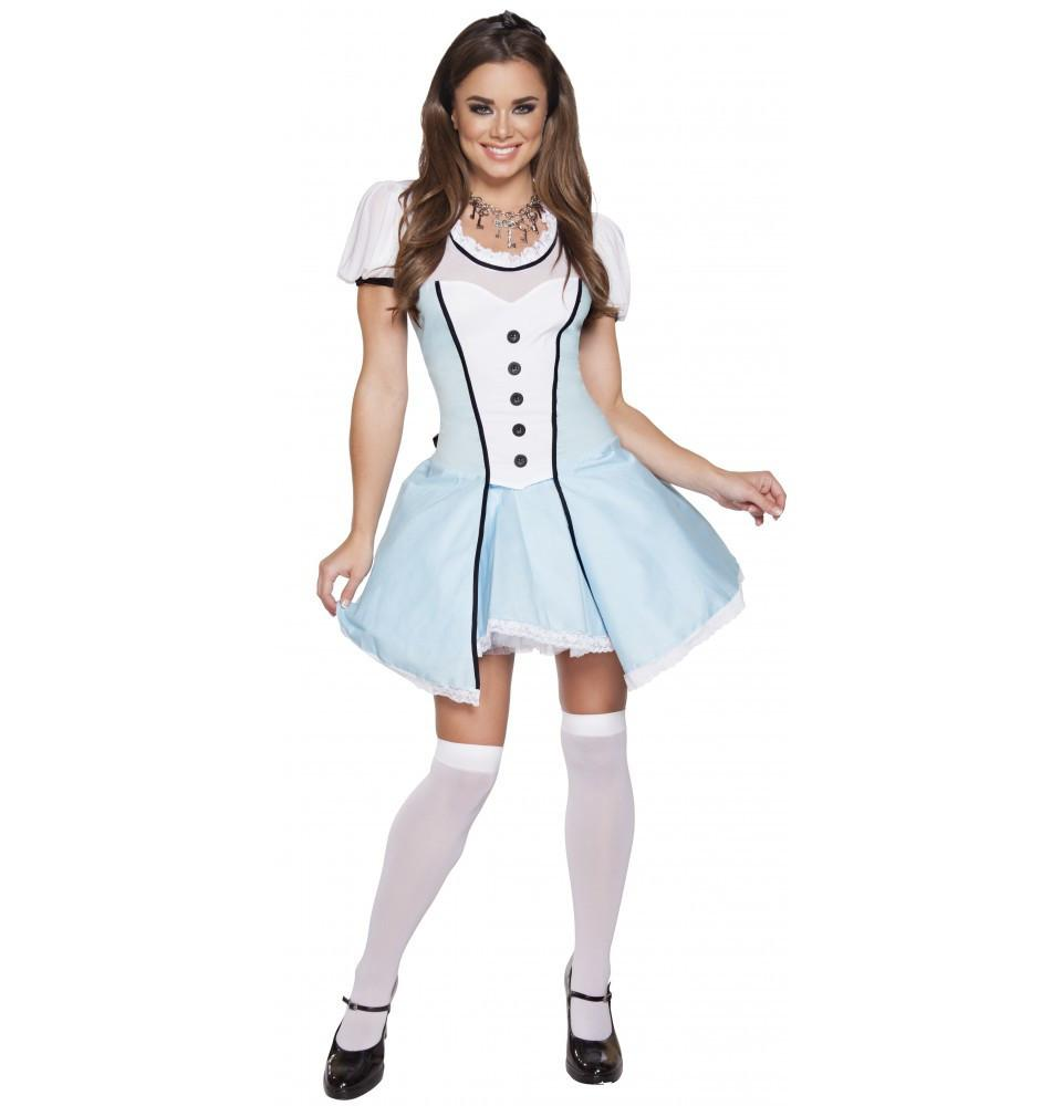 4614 2pc Alluring Alice - Roma Costume New Arrivals,New Products,Costumes - 1