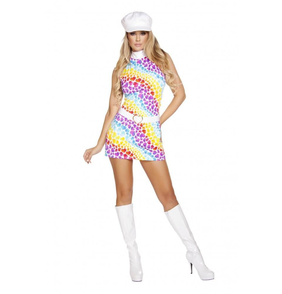 4641 2pc Lusty Hippie Child - Roma Costume Costumes,New Arrivals,New Products - 1