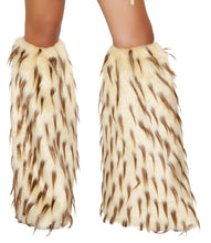 LW4473 Fur Leg Warmer