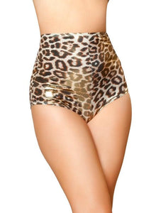 SH3059 - Gold/Brown Leopard