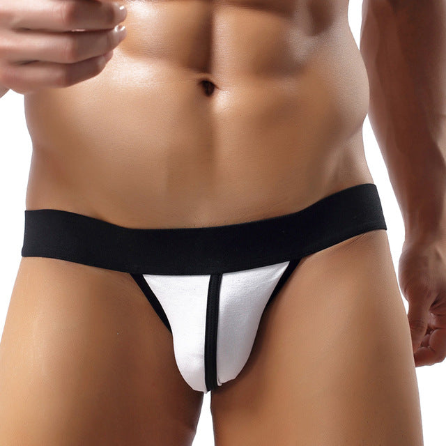 Striped G-string Thong Jockstrap
