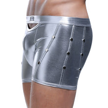 Faux Leather Boxer Briefs