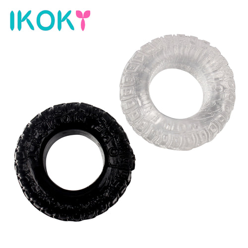 2Pcs/Set cock Rings