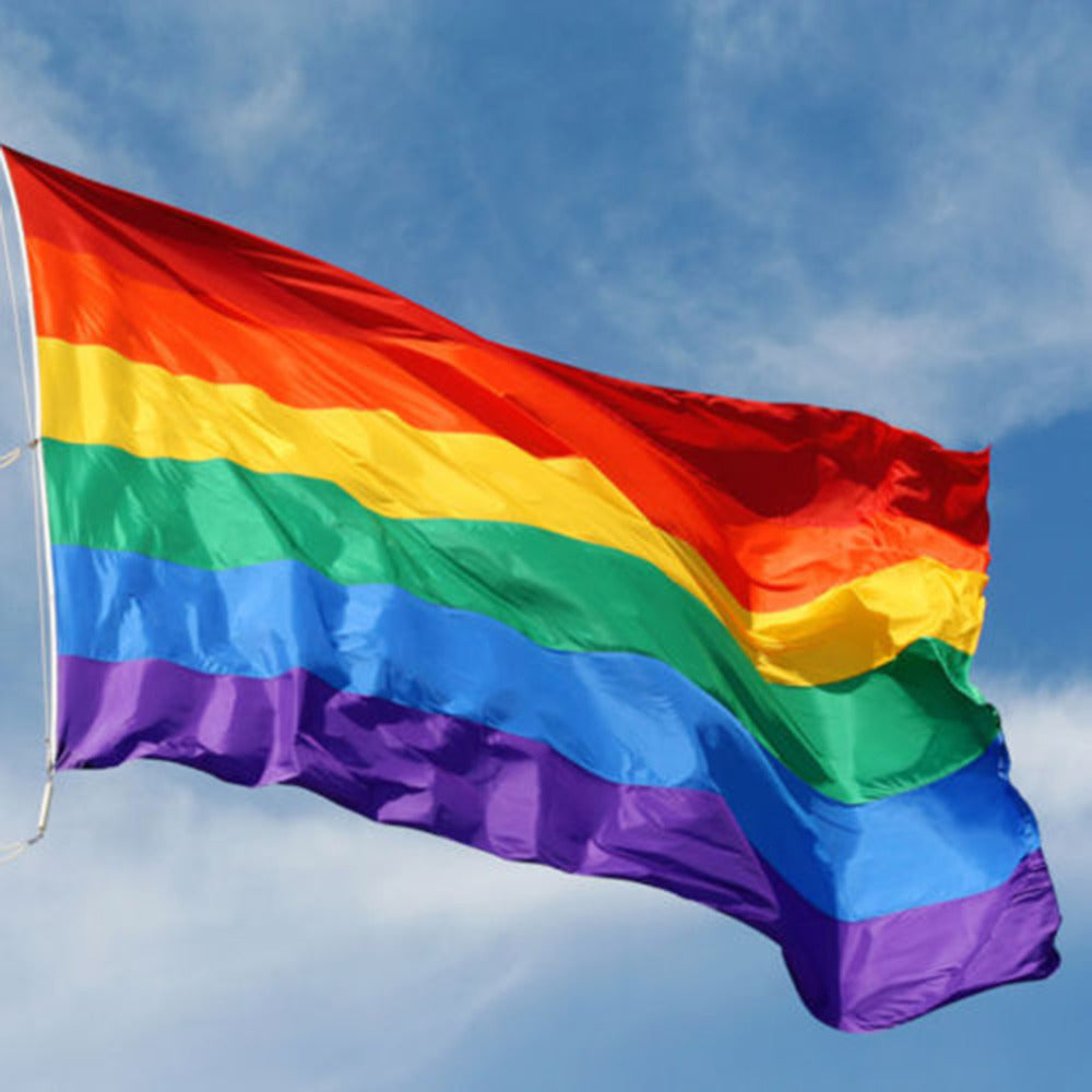 90 x 150 cm  Rainbow Flags