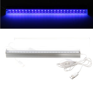 Big Promotion 6W USB Portable UV LED Blacklight Ultraviolet UV Lamp Lights Tube DC5V Fixtures Lamp for Bar Party Club DJ UV Art