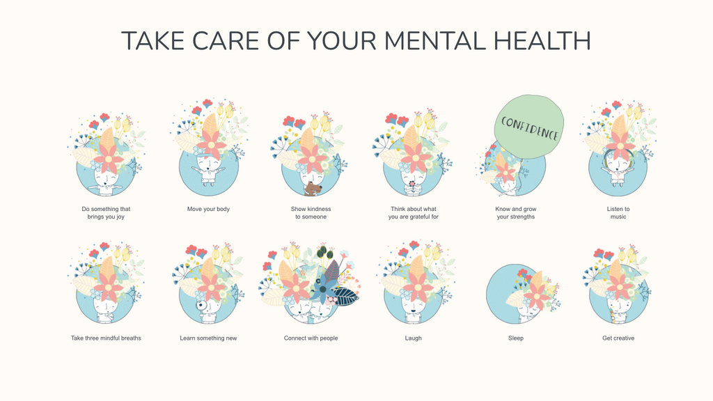 Multiple ways to Take care of your mental health