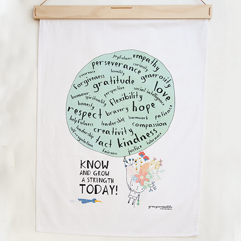 Strengths Tea Towel