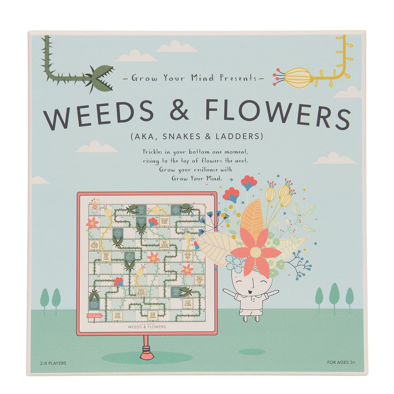 Weeds & Flowers board game