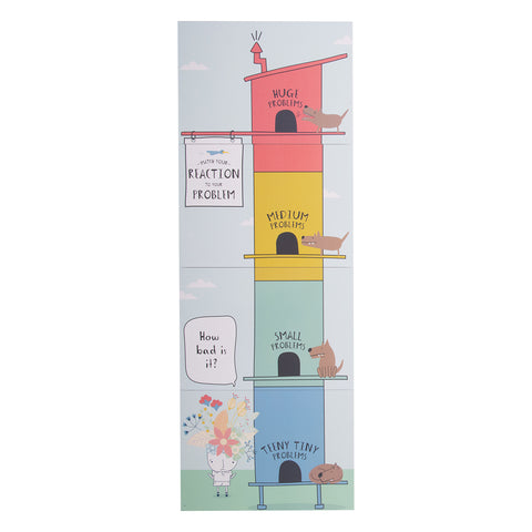 Catastrophe Scale Whiteboard Magnet Puzzle