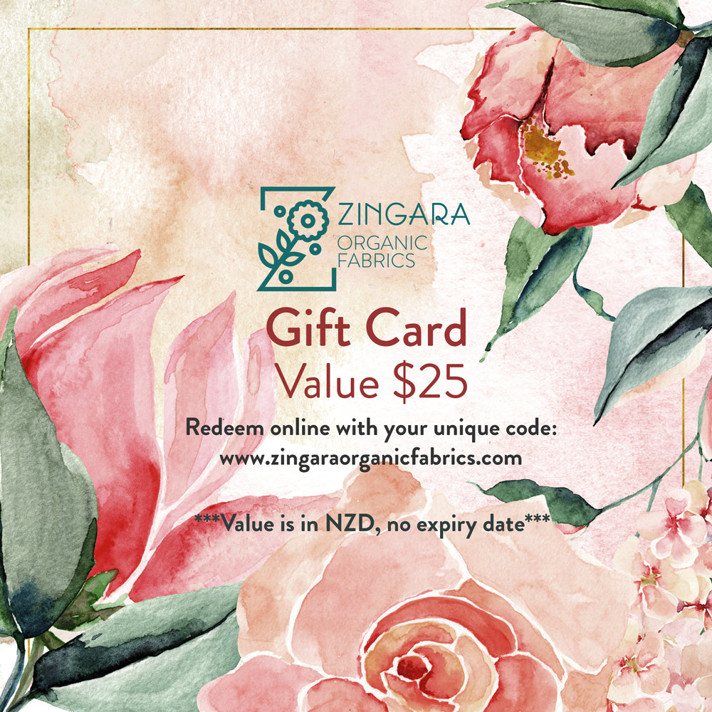 Gift Card - Value $25