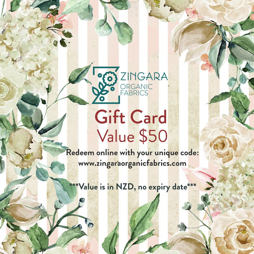 Gift Card - Value $50