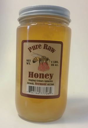 Pure Vermont Raw Honey, Natural, Benefits of Honey
