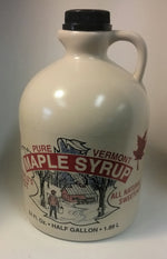Pure Vermont Maple Syrup - Half Gallon