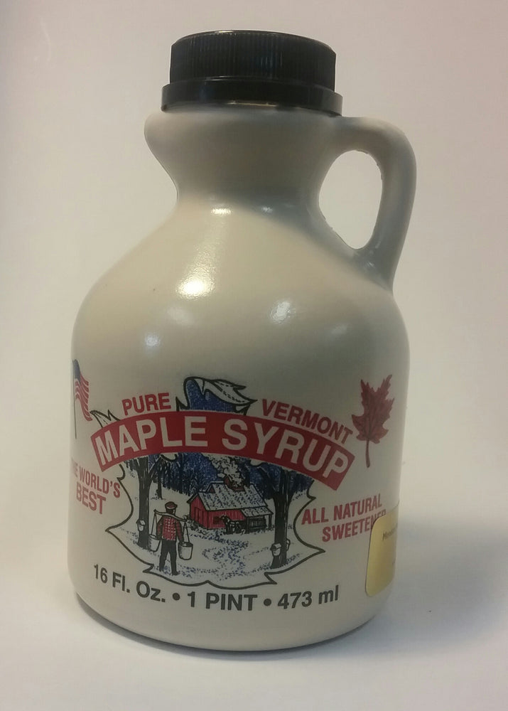 Pure Vermont Maple Syrup, Amber Color, Rich Flavor, Dark Color, Robust Taste