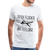 Men's Premium T-Shirt - Catch flights not feelings - white