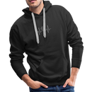 Men's Premium Hoodie-My heart beats for my dog - black