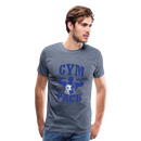 Men's Premium T-Shirt-Wolf Gym Pack - heather blue