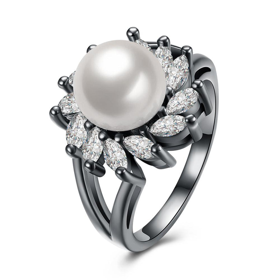 Freshwater Pearl Blossoming Cocktail Ring - InspoArt