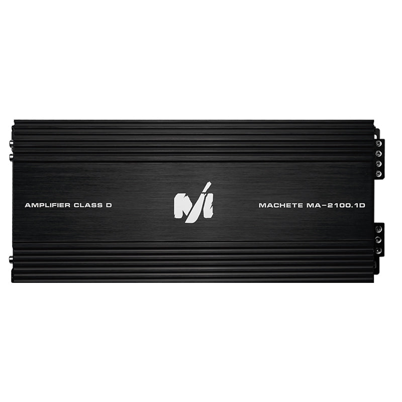 Machete MA-2100.1D | 2100 Watt Power Amplifier