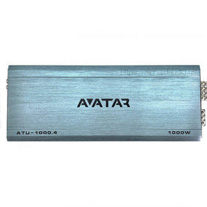 Avatar ATU-1000.4 | 600 Watt 4-channel Amplifier